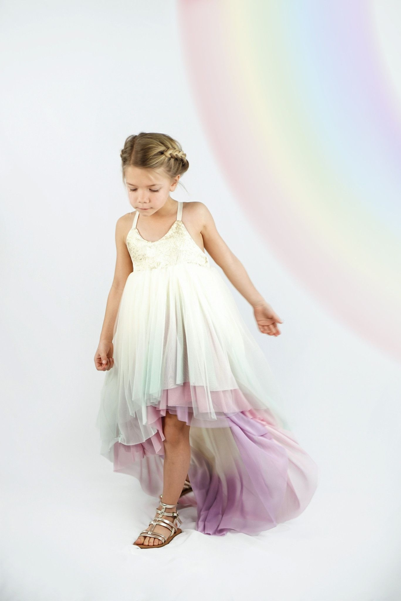 This listing is for one custom made unicorn dress. Create the dress of your  dreams by choosing skirt colors 07eae40a52ed