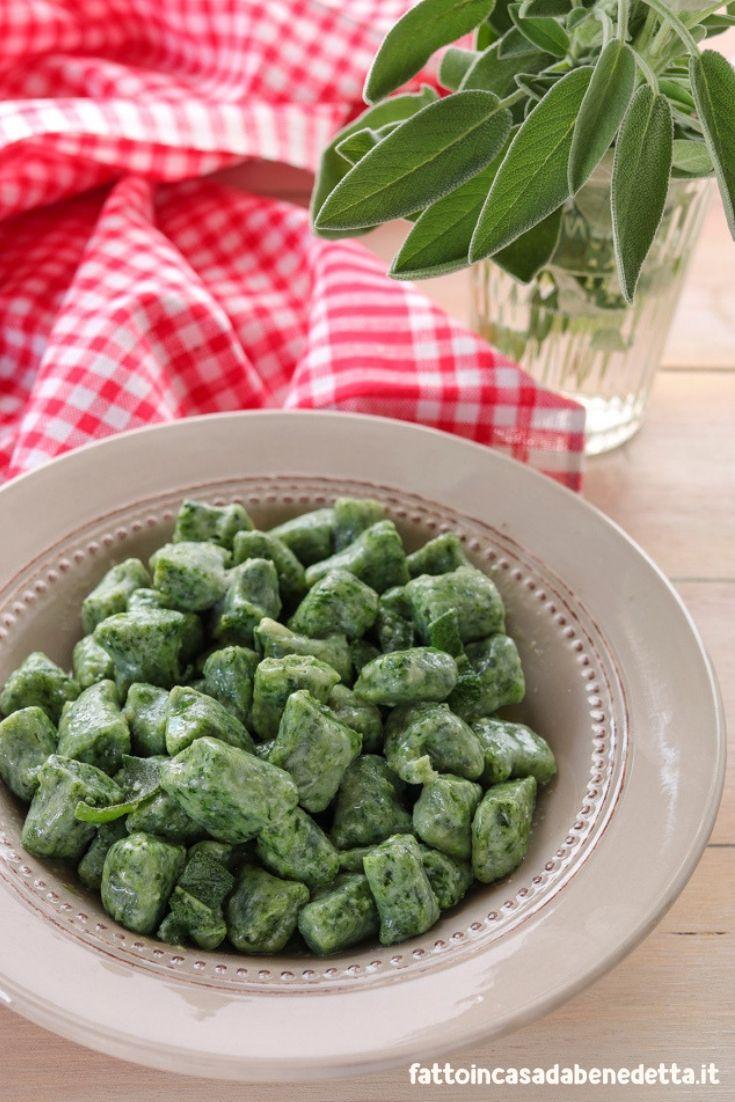 Gnocchi di ricotta e spinaci ricetta ricette primi for Gnocchi di ricotta fatto in casa da benedetta