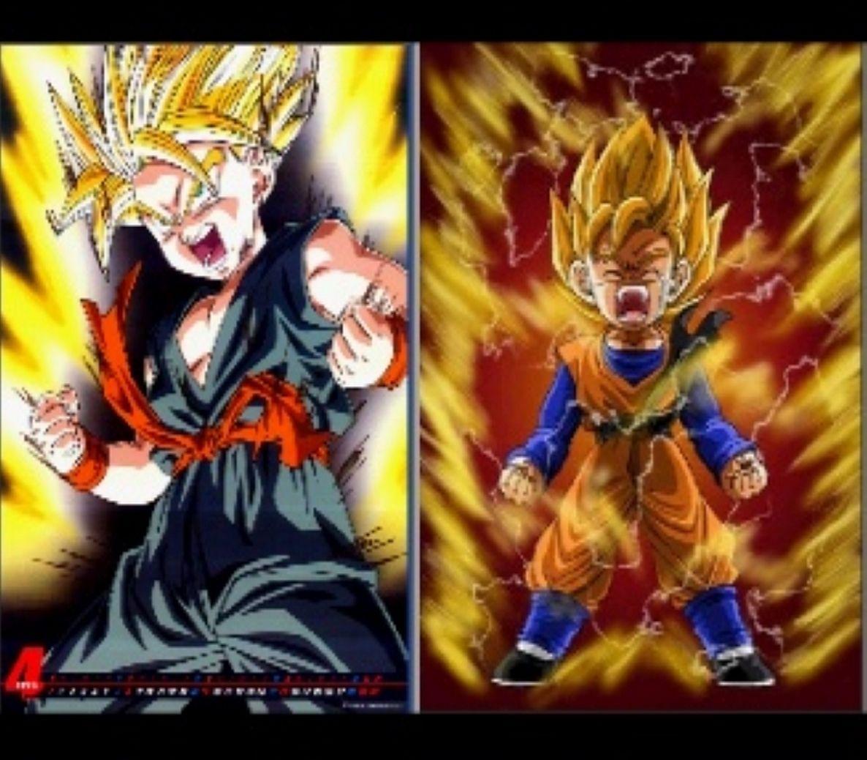 Goten and Trunks, my favorite | Dragonball Z | Z wallpaper ...