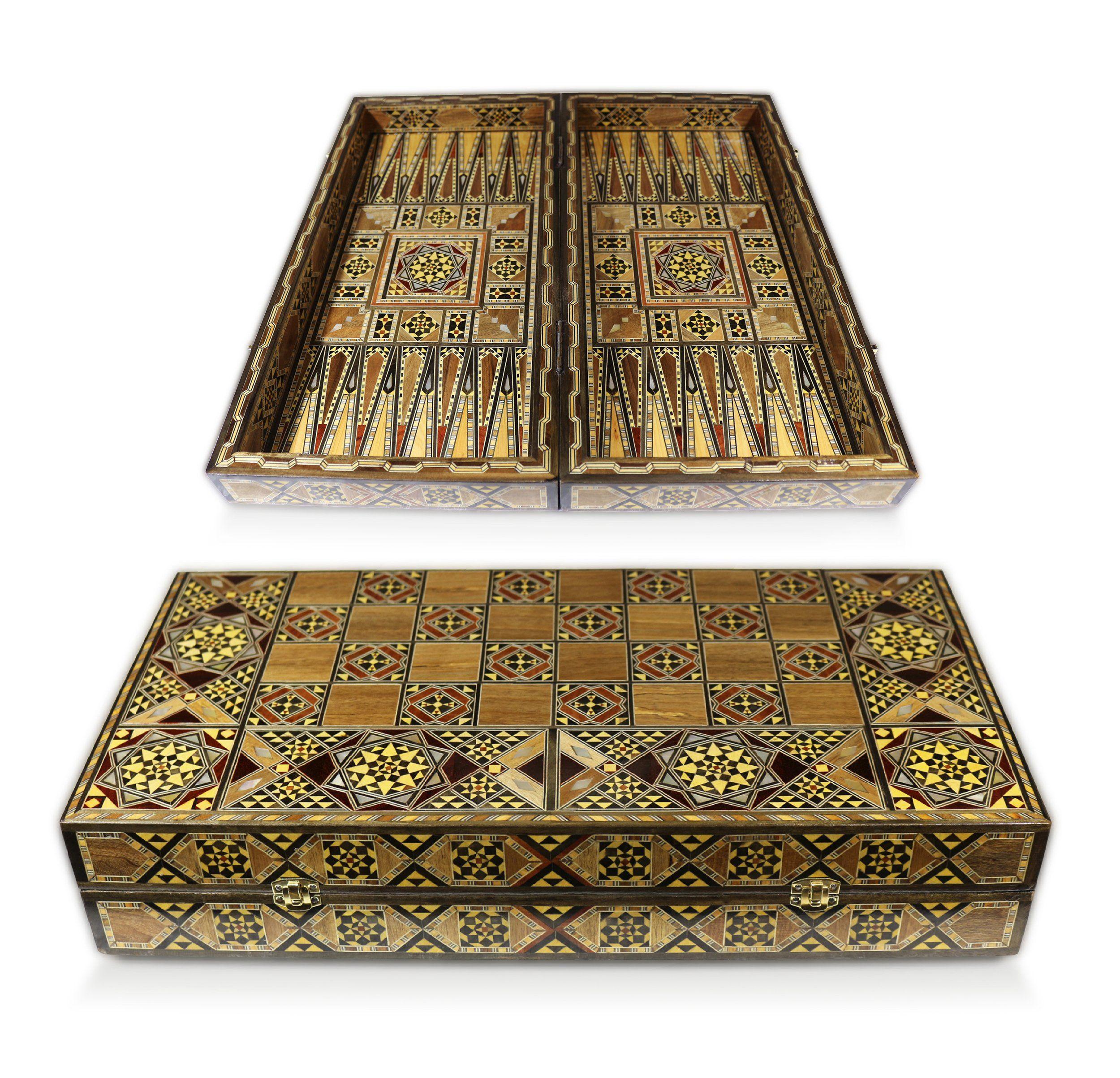 Orientalische Box aus Holz,Aufbewahrung von Andenken,für Papiertücher,Servietten