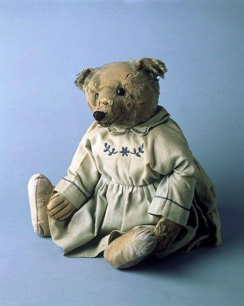 Whitie the teddy bear Margarete Steiff GmbH (Germany) ca. 1907 mohair