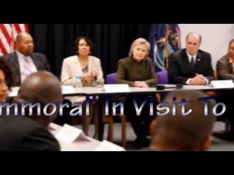 Hillary Clinton Calls Water Crisis 'Immoral' In Visit To Flint