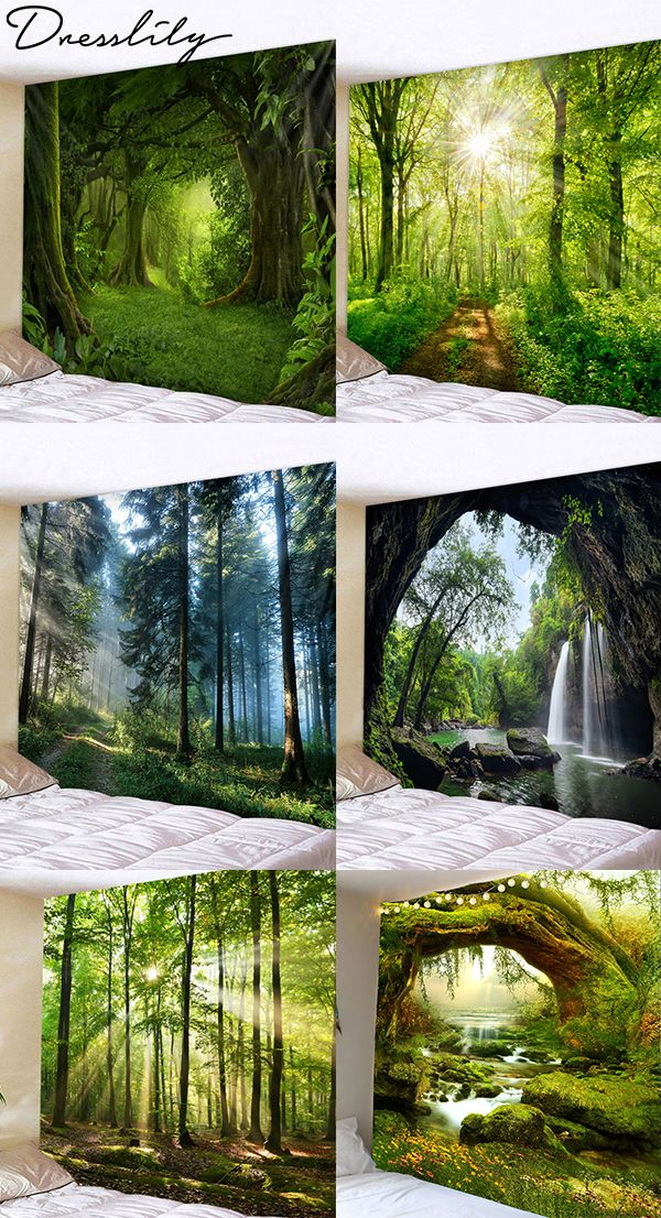 0e466f321f DressLily forest wall tapestry. You don t want to miss out!  dresslily