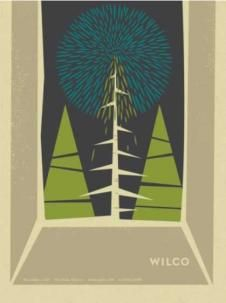 December 7, 2011 Show Poster by Wilco - Poster