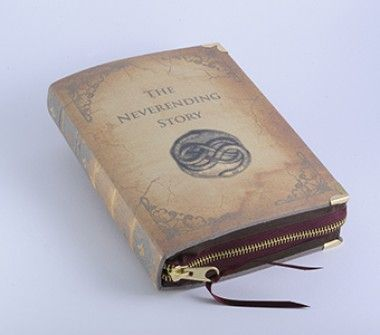 Neverending Story Book Clutch