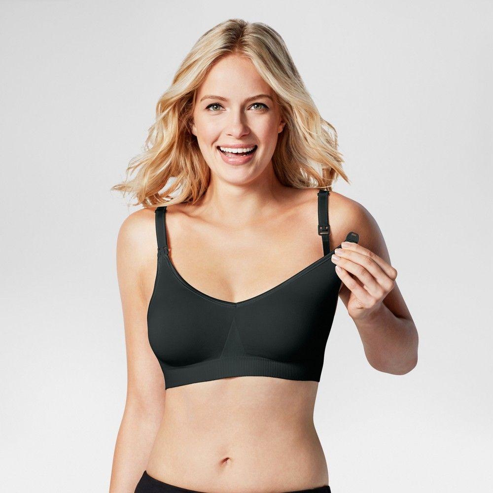 8543ddac90a Bravado! Designs Women s Body Silk Seamless Nursing Bra - Black Xxl ...