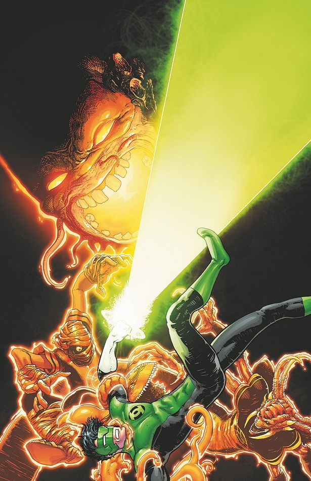 GREEN LANTERN NEW GUARDIANS 15 (6,5/10) Green lantern