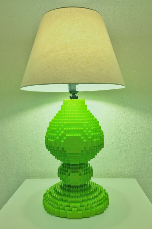 Kyur8 Tell Stories With Pictures Lego Lamp Lego Art Lamp