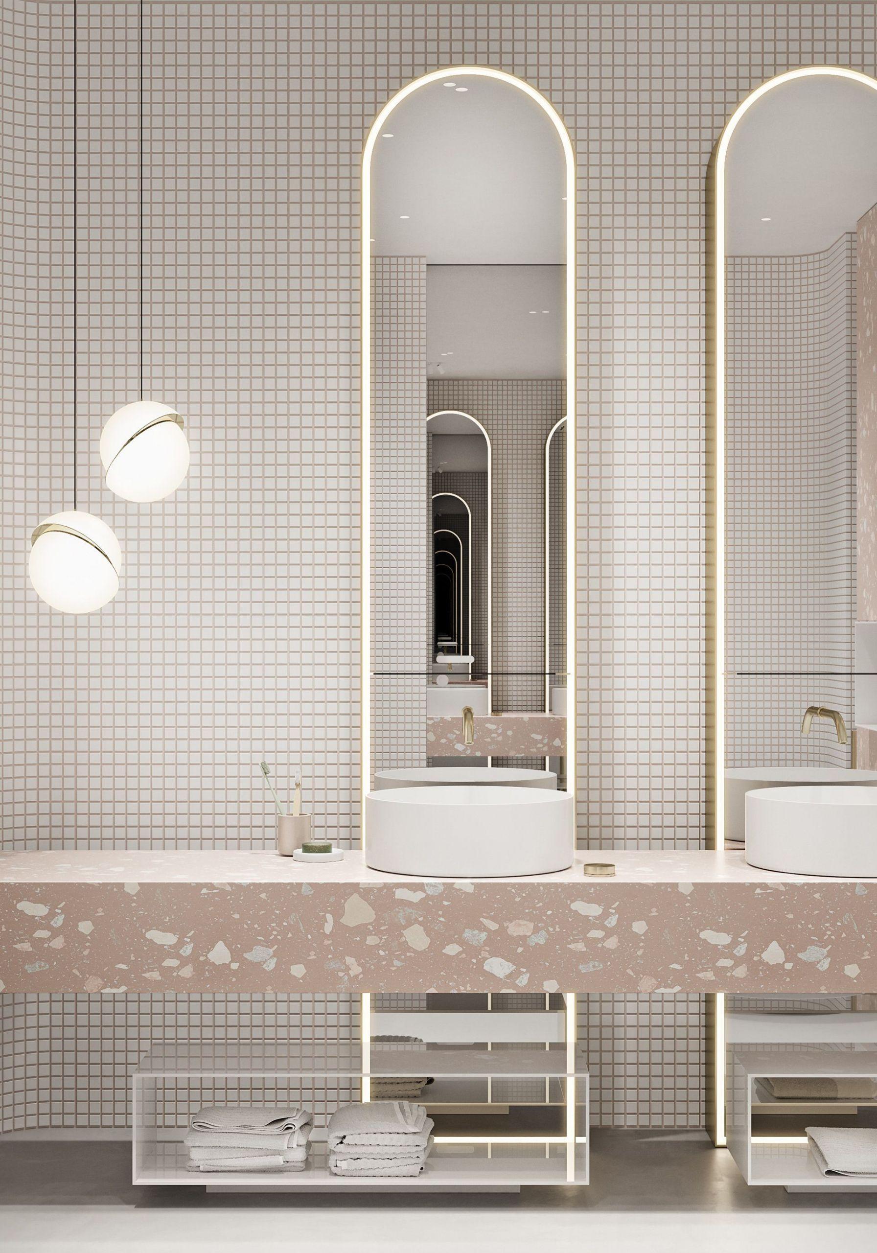 Beau Model Des Salle De Bain En 2020 Salle De Bain Design Idee Salle De Bain Decoration Salle De Bain