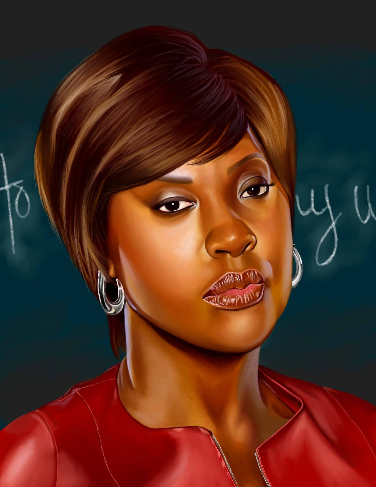 Viola Davis as Annalise Keating from How To Get Away With Murder