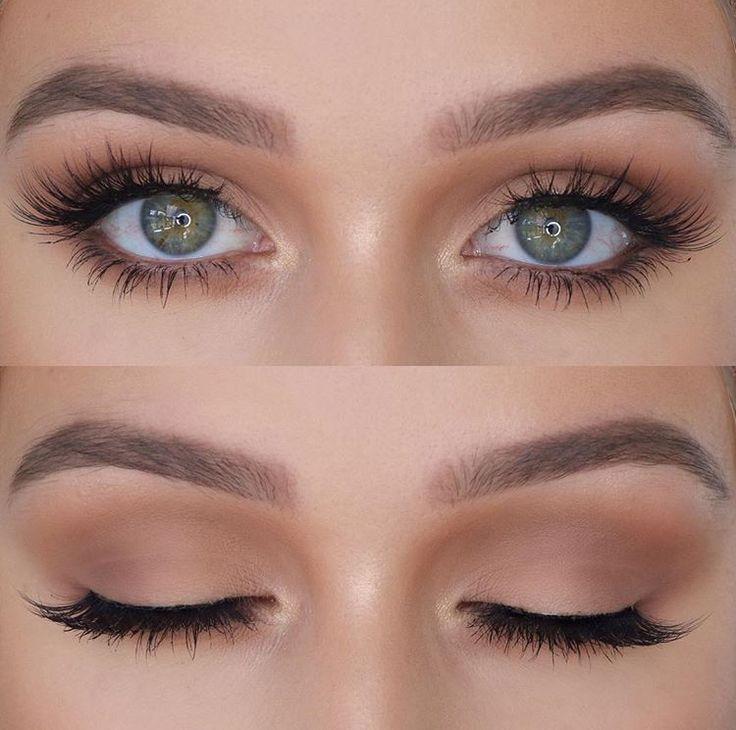 Braut Makeup Inspiration: Hochzeit Makeup - Hochzeit ideen #makeupprom