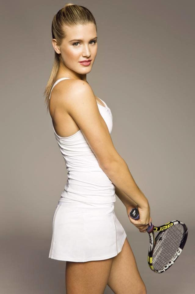Sorry, that eugenie bouchard hot turns!