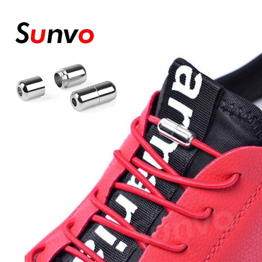 Accessories Trainers Adults Kids Elastic Spring Buckle Shoe Lace Strings Buckle