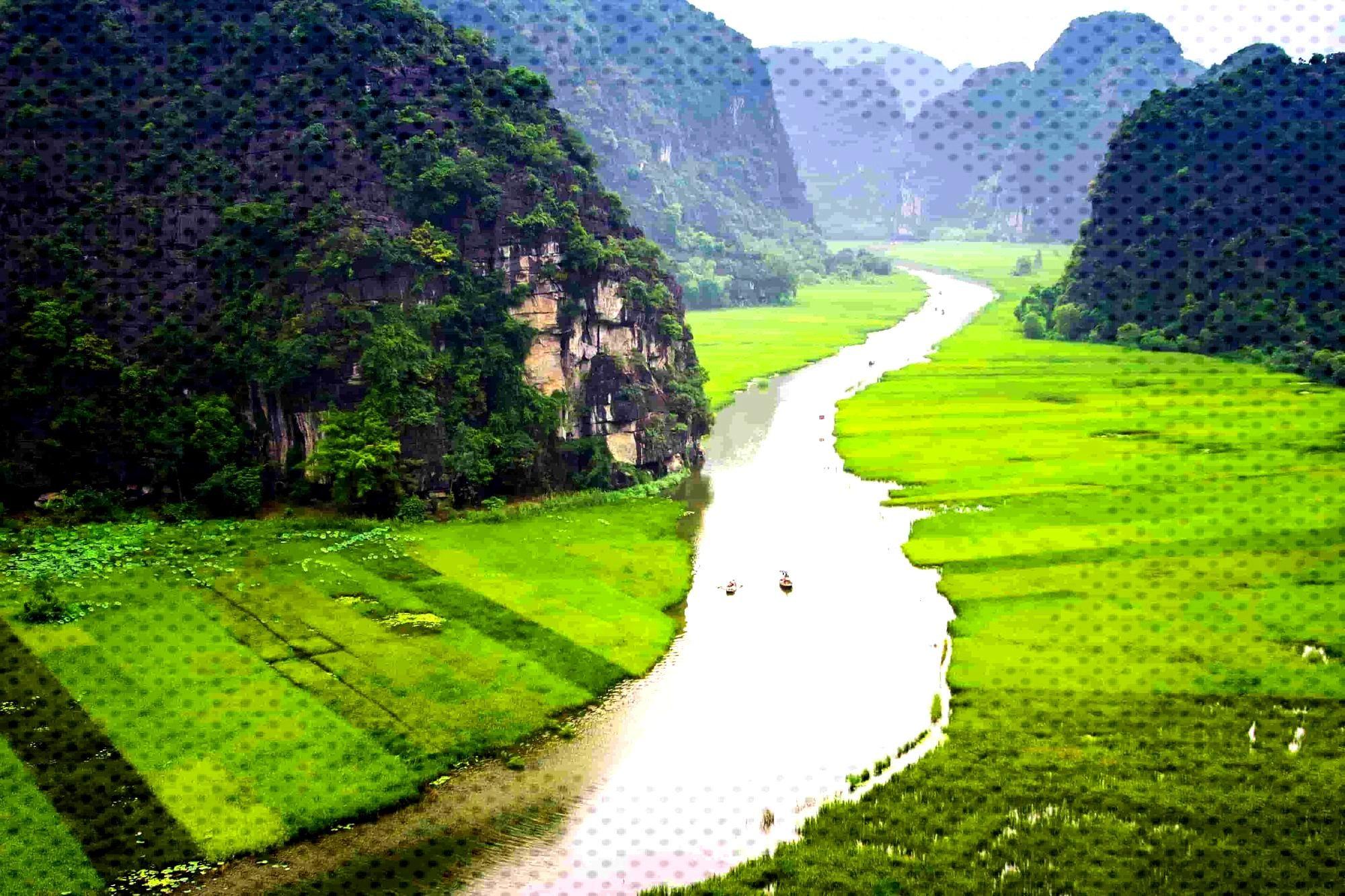 Ninh Binh near Hanoi Vietnam Ninh Binh near Hanoi Vietnam