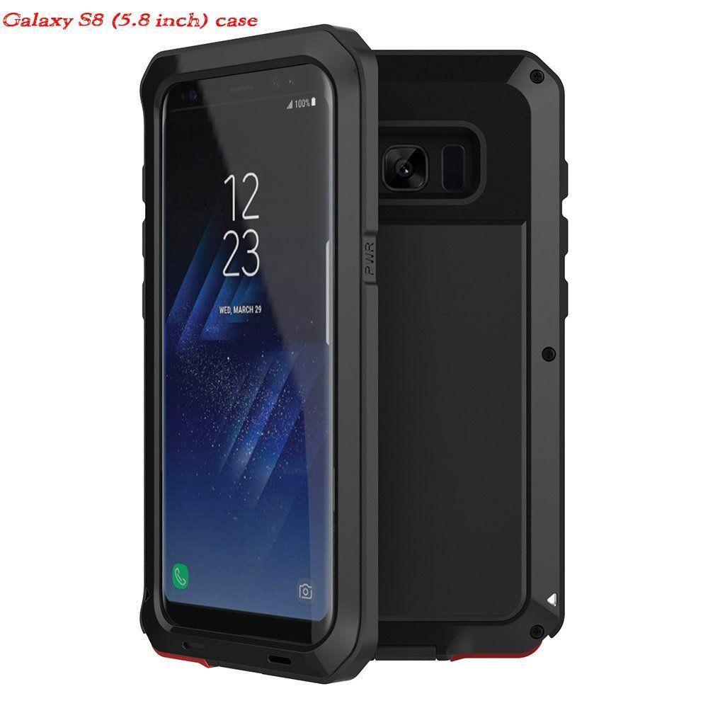 sale retailer 5671c 40fdc Galaxy S8 Case(Military grade drop test passed),Eliubing Aluminium ...