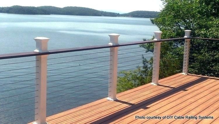 Best Cable Deck Railing Cost Cost Of Cable Railing For Decks 400 x 300