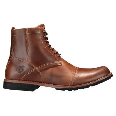 Timberland Men s City 6-Inch Side-Zip Boots Burnished Tan e242f987e708