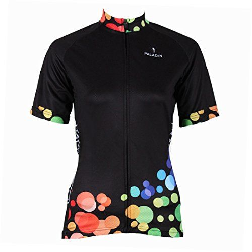 3eb01831c QinYing Women Colorful Patterns Black Breathable Cycling Jersey Suit with  Shorts XL   Read more at the image link.
