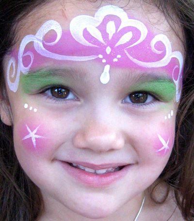 Bien connu Trucco del viso per Carnevale per bambini da principessa n.4  HQ17