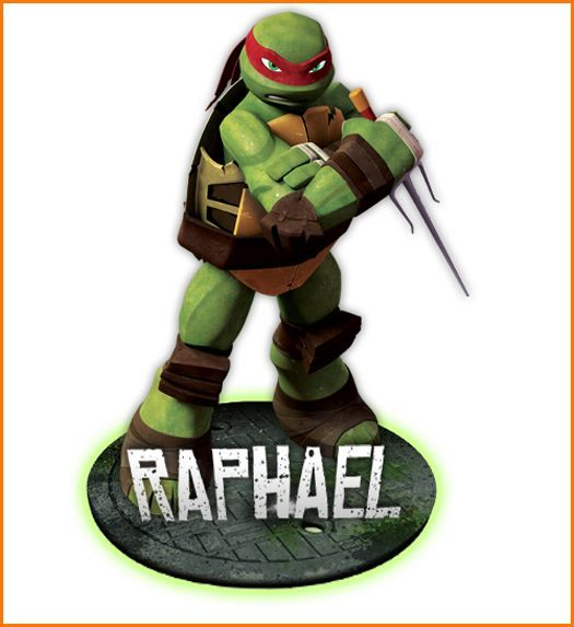 Pg Tmnt Raph Sticker