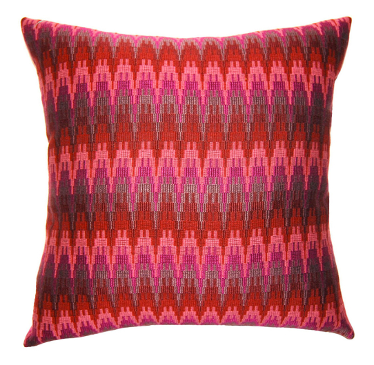 Squarefeathers - Rhapsody Zig Zag pillow from the Designer Collection  Shop: http://bit.ly/SF_Designer_RhapsodyZigZag