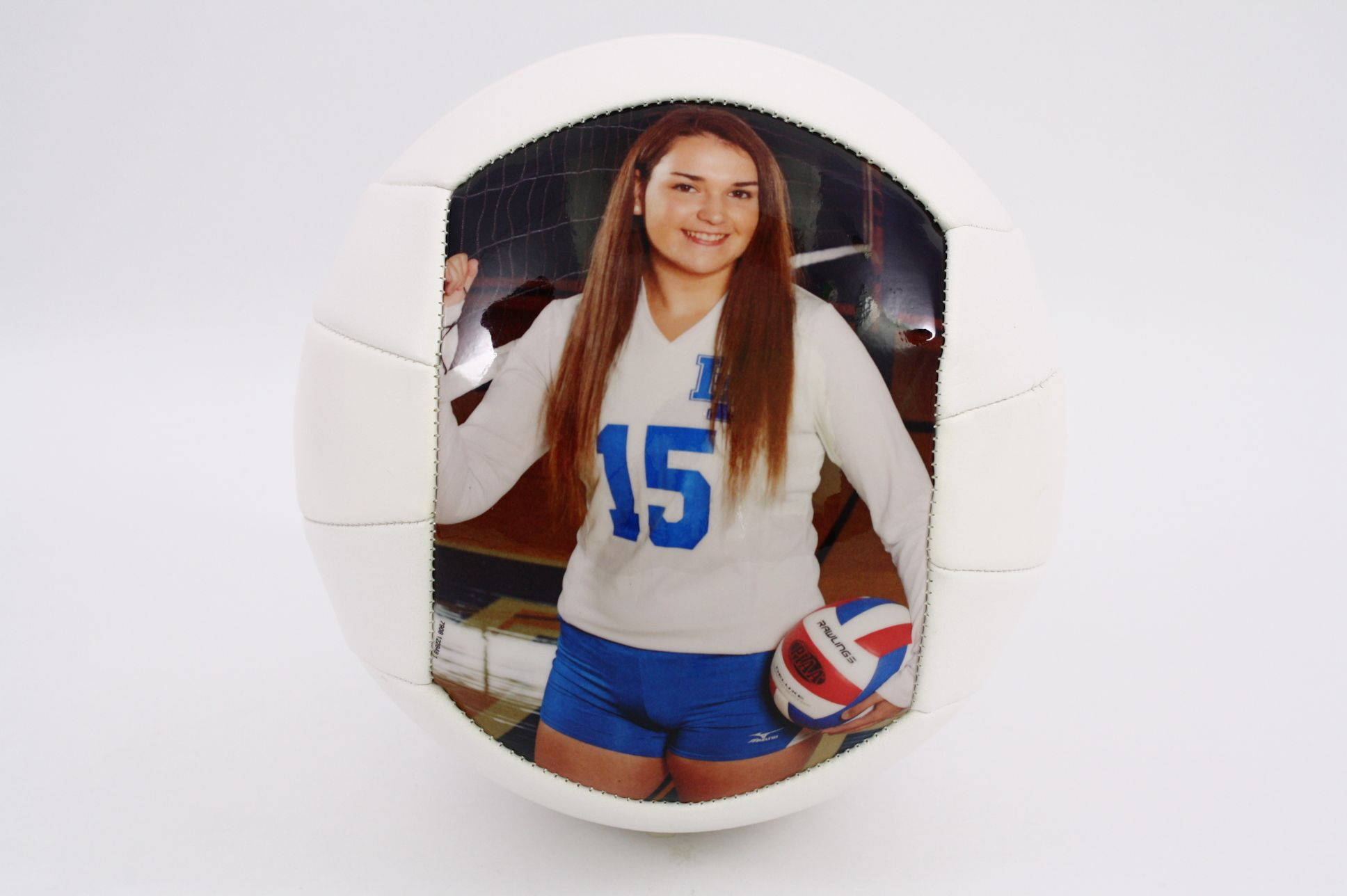 Customized Volleyball 1 Or 2 Panels Use Any Pictures And Text You Can Even Use Your Own Design Get Creative Volleyball Gifts Sports Balls Volleyball Crafts