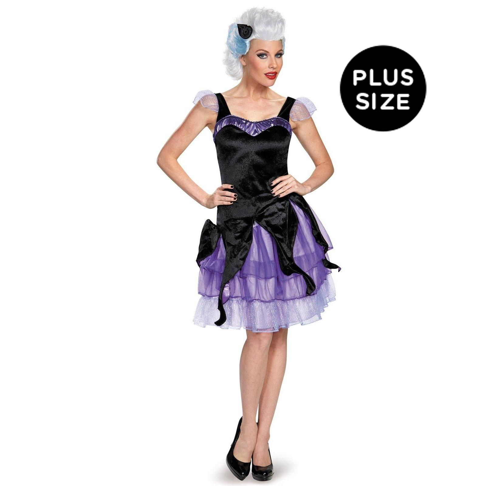 disney deluxe ursula plus size costume for women | costumes