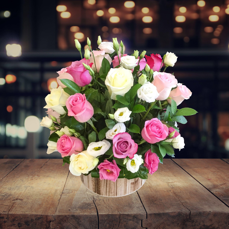 Rose Garden Flowers Roses Basketarrangement