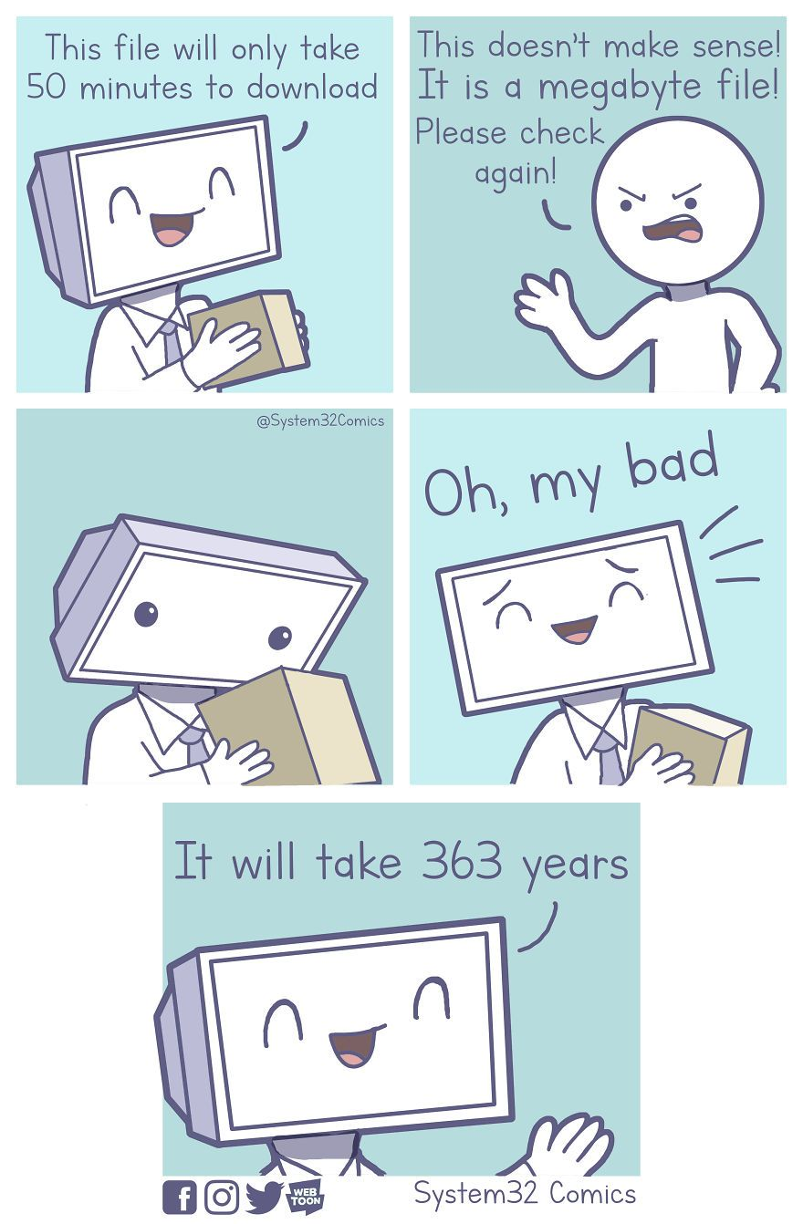 What Happens If You Let A Computer Draw Comics 6 Comics Computer Humor Computer Jokes Funny Meme Pictures