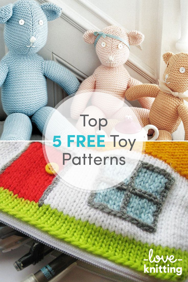 Who can resist these sweet toy knitting patterns, perfect for ...