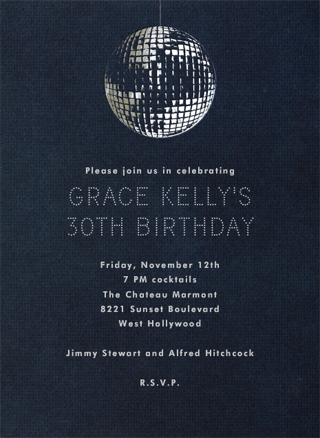 Disco By Paperless Post Customize One Of Hundreds Online Birthday Party Invitations With RSVP Tracking View More Designs On Paperlesspost