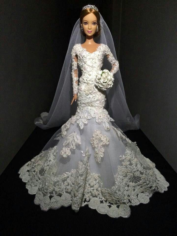 платье для куклы невесты фото угловой диван