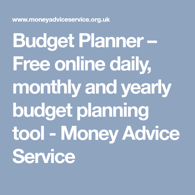 budget planner free online daily monthly and yearly budget