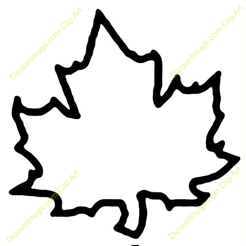 Clipart 10261 Maple Leaf Maple Leaf Mugs T Shirts Picture Mouse Pads More Clip Art Leaf Template Printable Leaf Outline