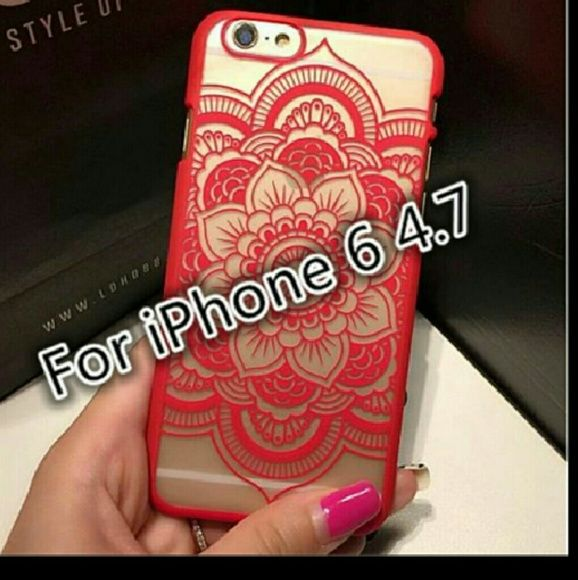 Brand New Beautiful Floral Henna Paisley Mandala P Brand New Beautiful Floral Henna Paisley Mandala Palace Flower Phone Cases Cover For iPhone 6 Accessories Phone Cases