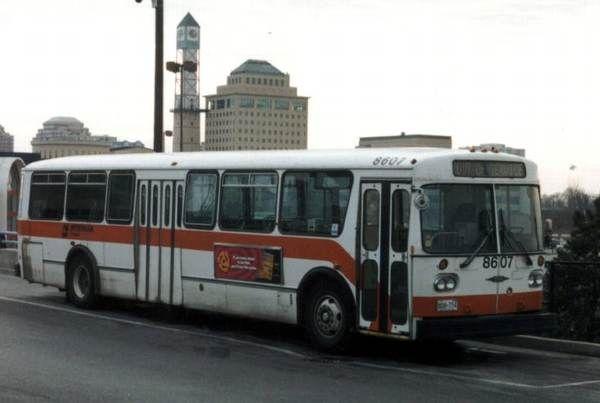 Mississauga Transit Orion bus