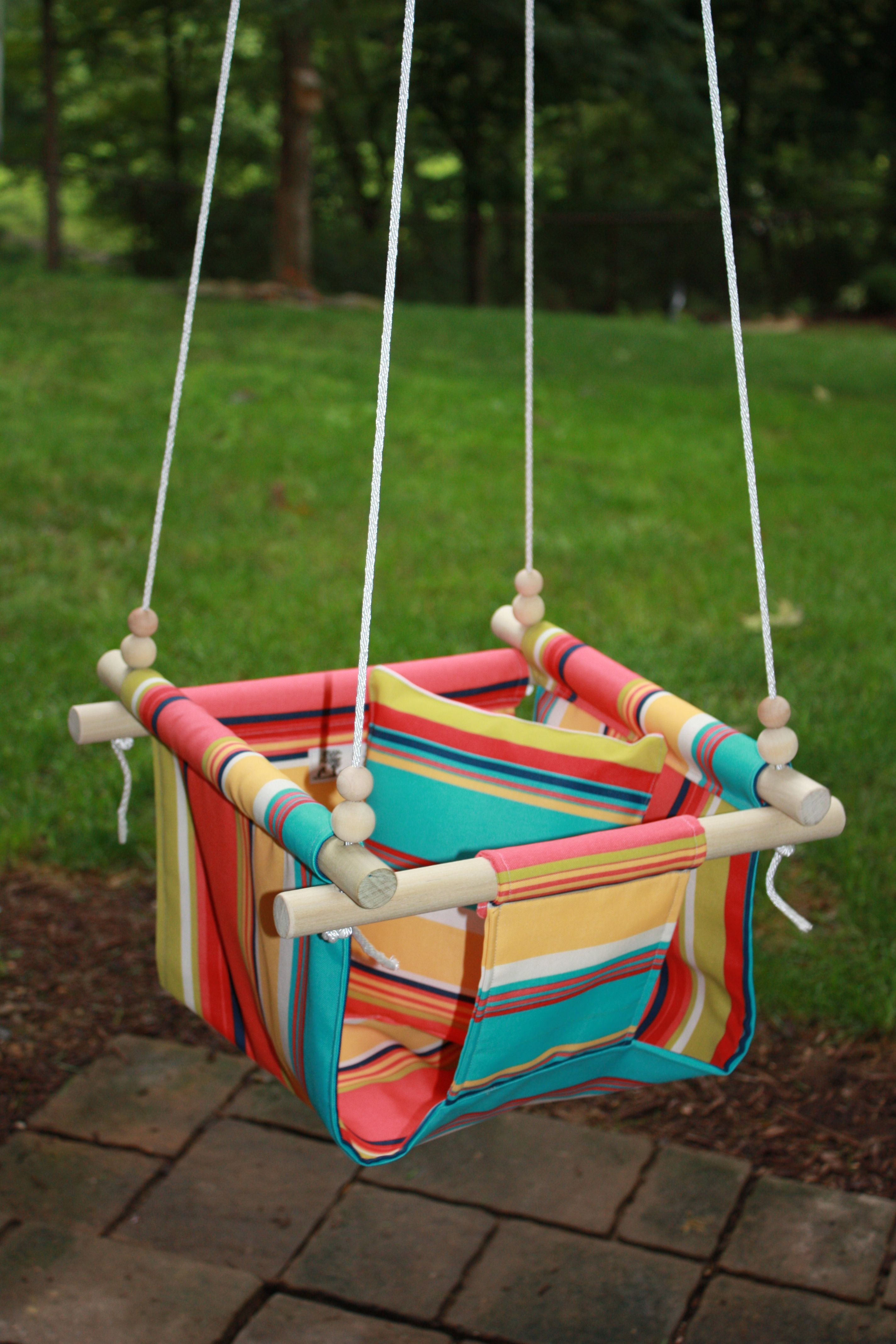 Baby Infant Toddler Cloth Fabric Swing