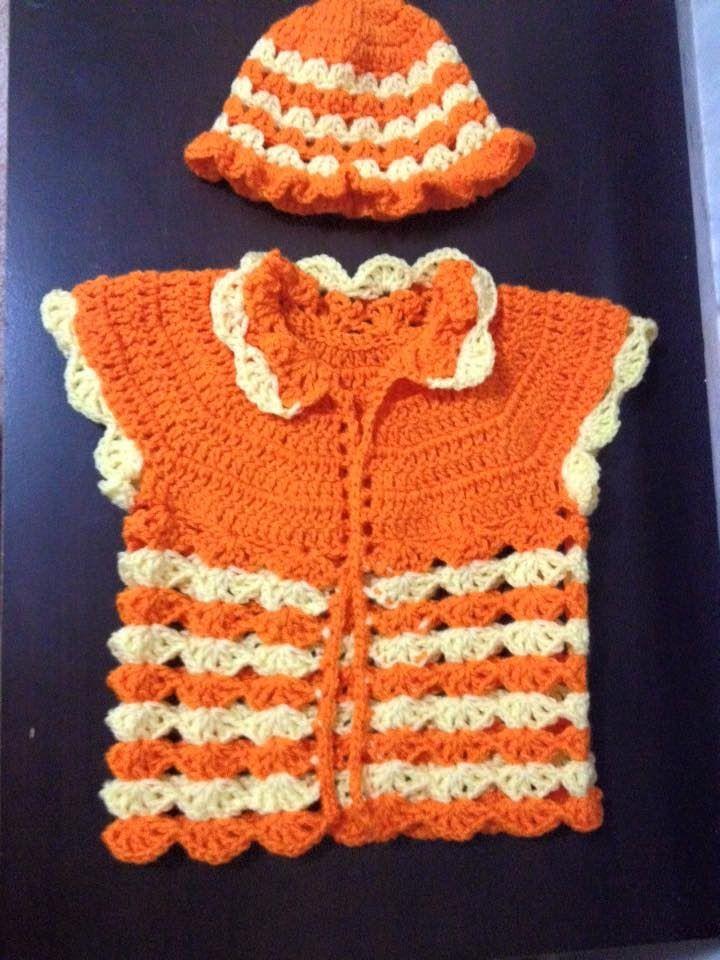 14f43600cc99 Simple baby sweater crochet Tamil English - video 2