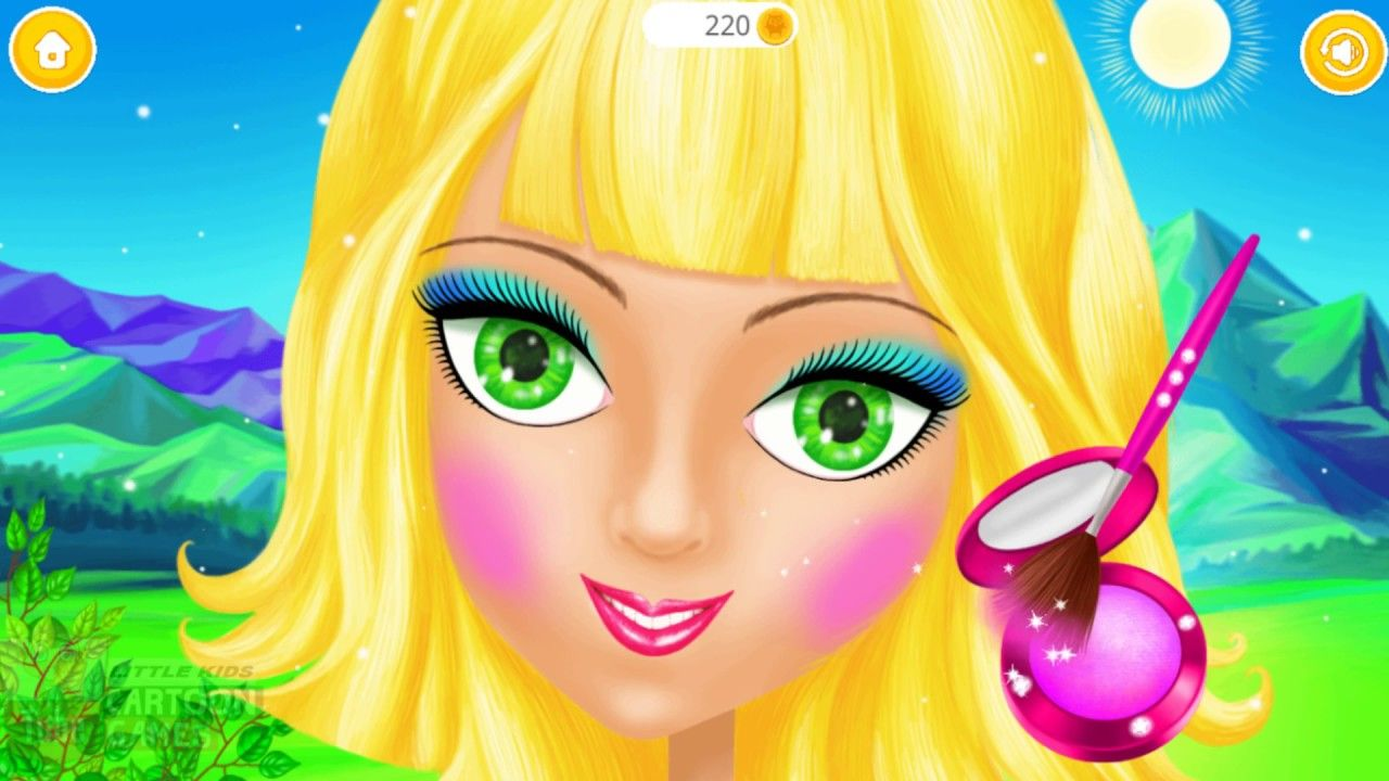 Fun Care Magic Princess Makeover Learn Colors Kids Games Hair Salon Dre Games For Girls Kids Games For Girls Magic For Kids