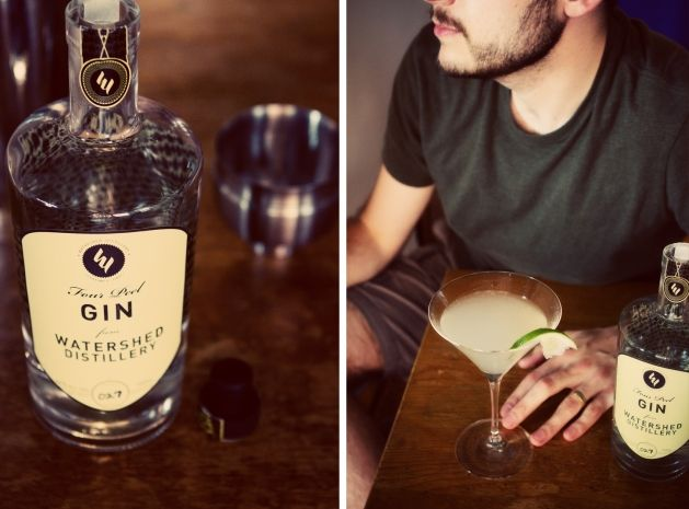 The Tarragon Gin Cocktail via @Brian - A Thought For Food