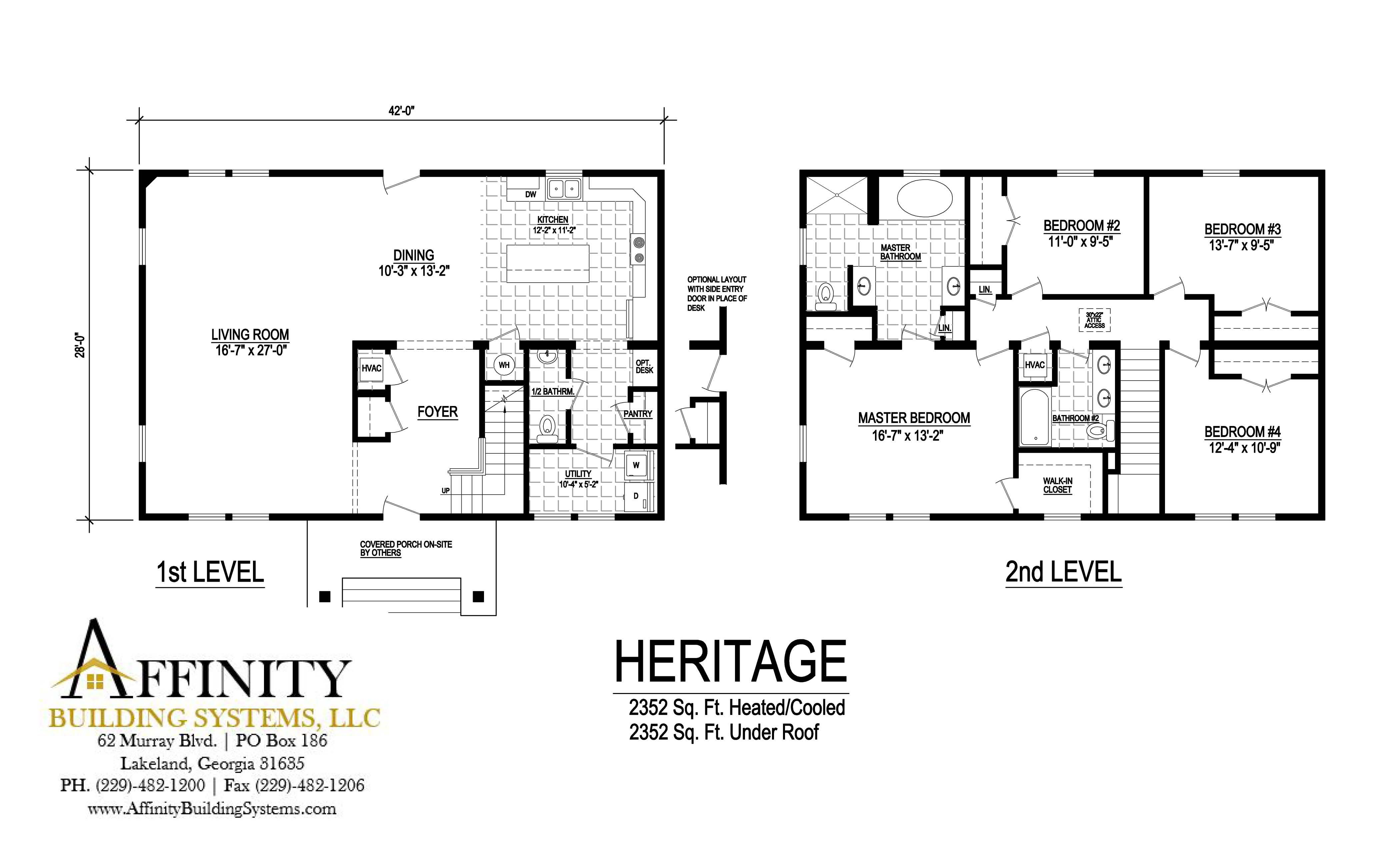 View Pompano IV floor plan for a 1920 Sq Ft Palm Harbor
