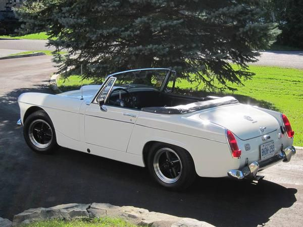 Chasie numbers for 1968 mg midget