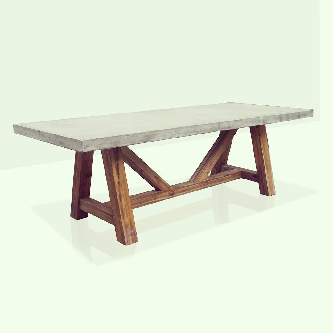 """GFRC Light Weight Cement Nebraska Table"