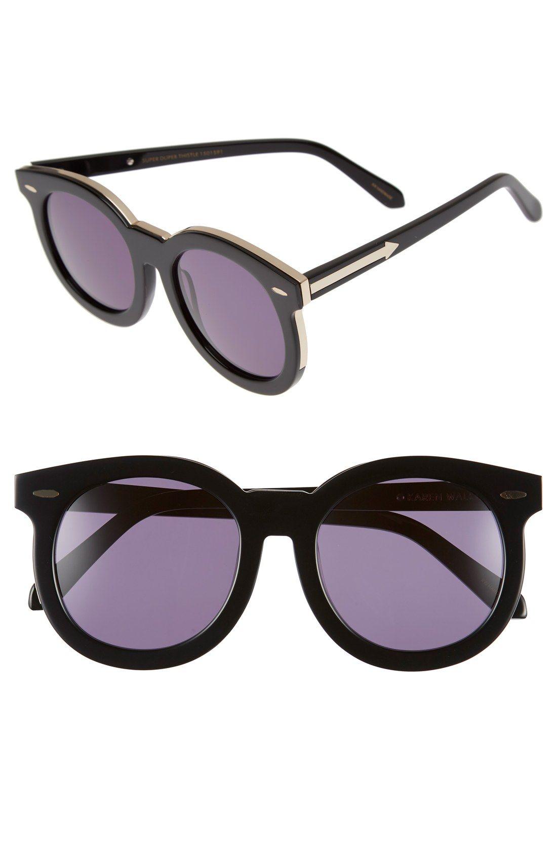 'Super Duper Thistle' 52mm Retro Sunglasses