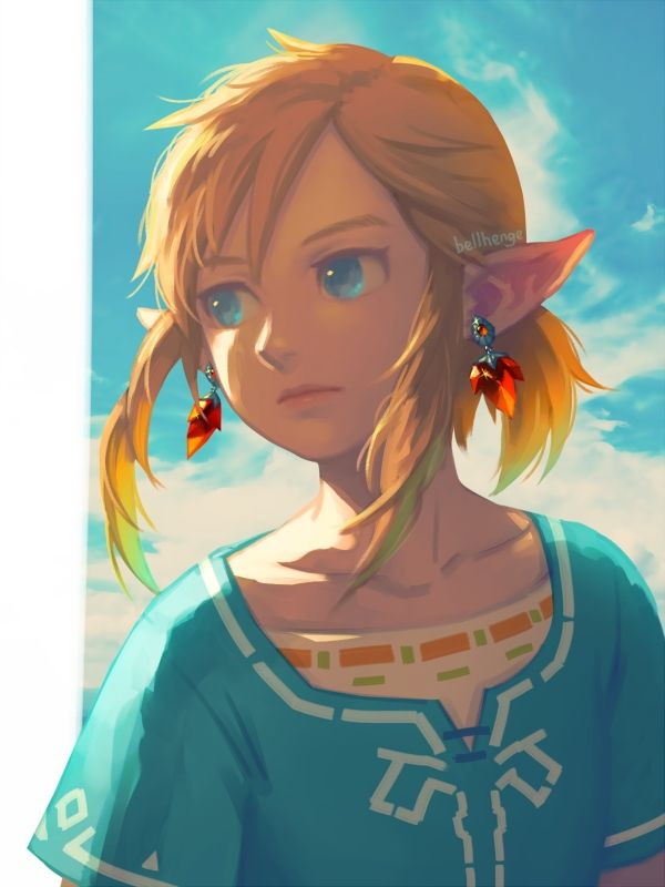 Botw Link By Bellhenge Legend Of Zelda Breath Legend Of