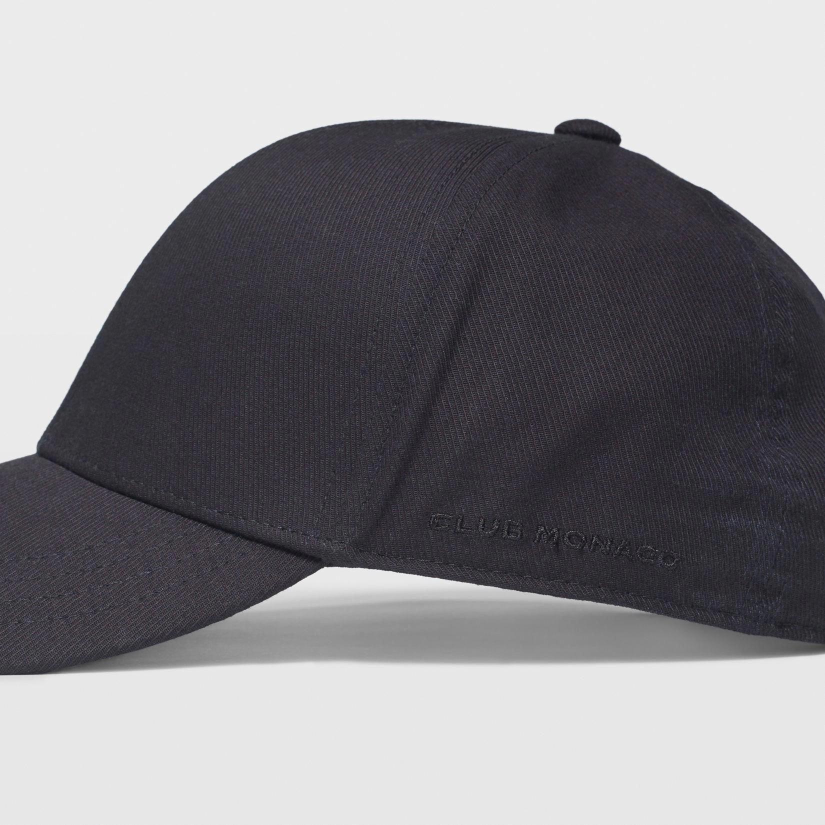 ac21f9fdb464d Club Monaco Cotton Twill Baseball Hat - Black One Size  baseballcaps   fsubaseballschedule