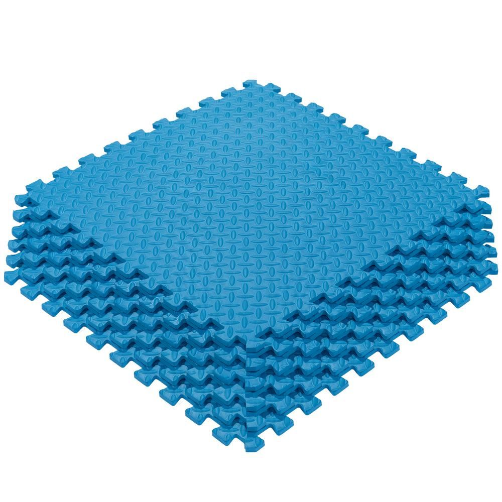 Ottomanson MultiPurpose Blue 24 in. x 24 in. EVA Foam