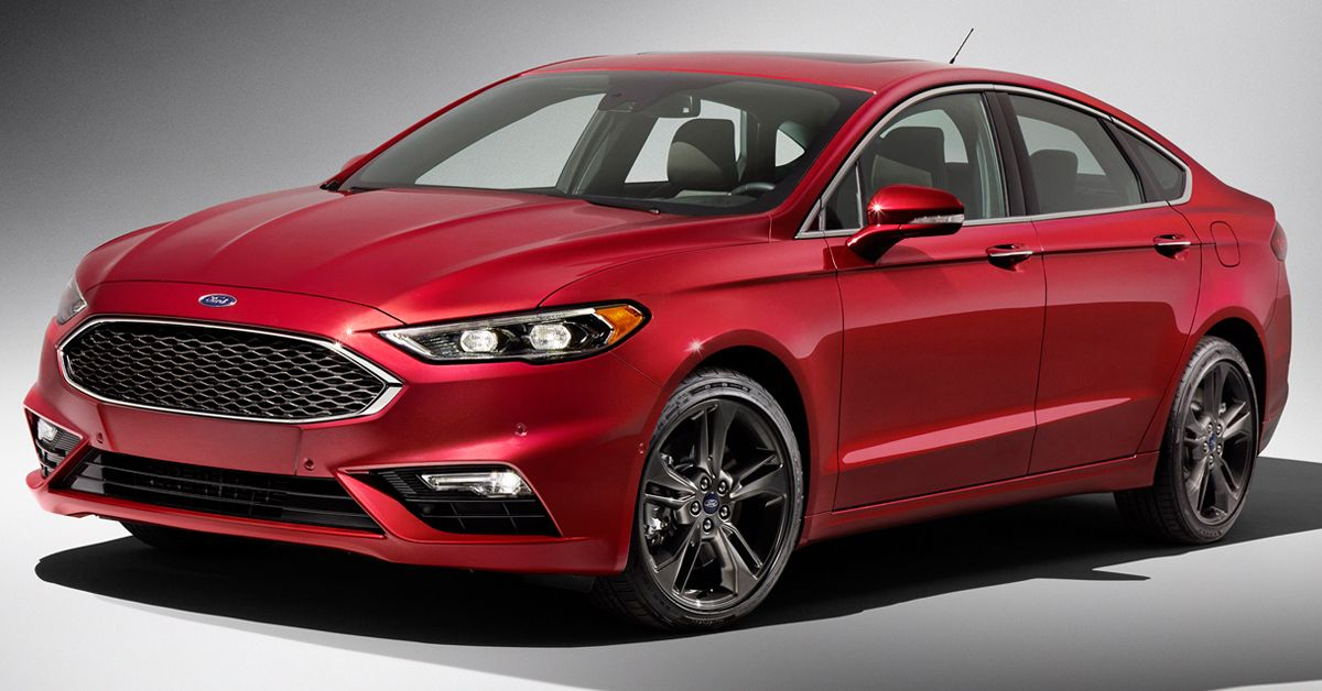 The affordable Ford Fusion is elegant, sleek & offers a