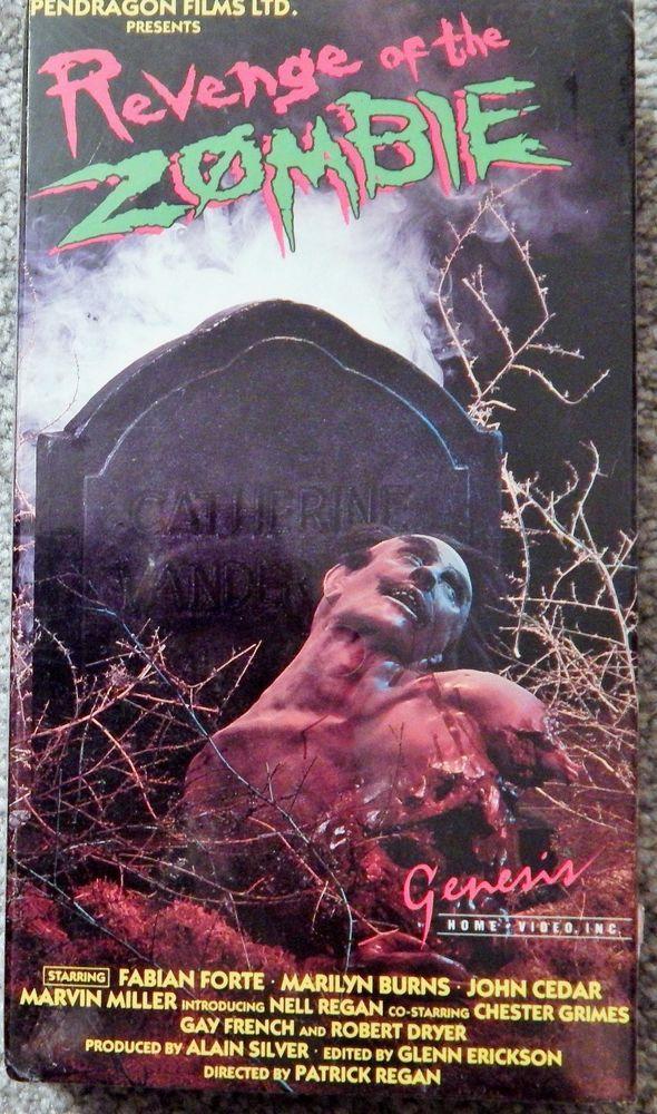 REVENGE OF THE ZOMBIE (1988 HORROR) VHS BRAND NEW FABIAN