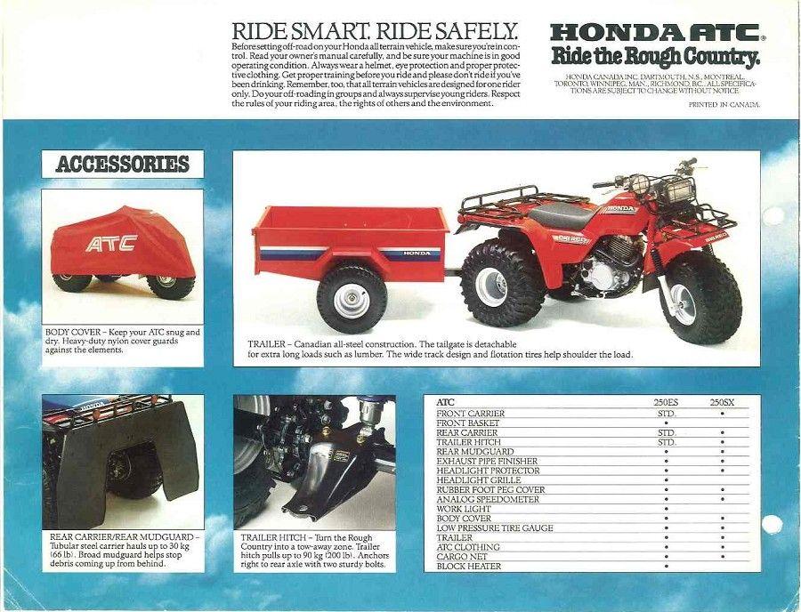 Hondaline Trailer Honda Honda Trike Atc
